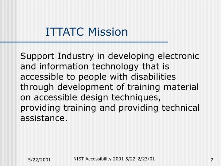 ITTATC Mission