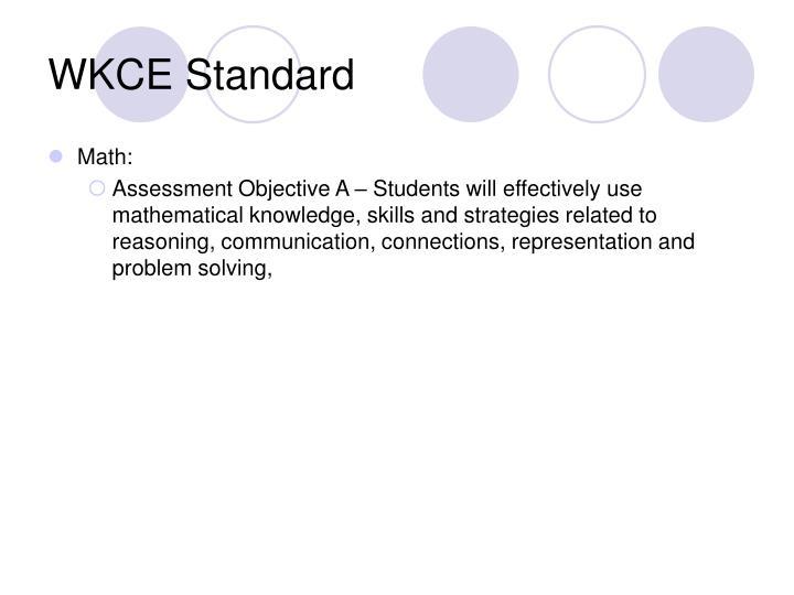 WKCE Standard