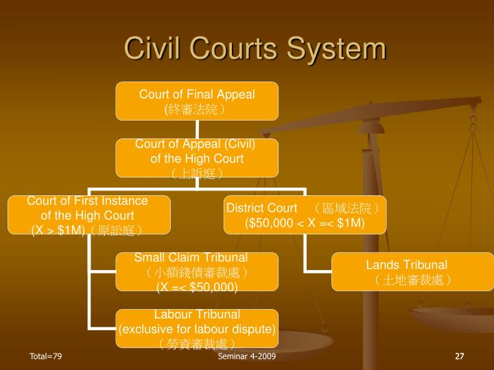Civil Courts System