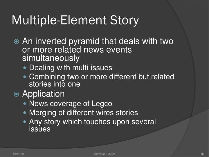 Multiple-Element Story