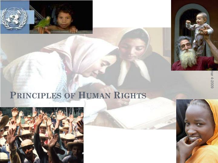 Principles of Human