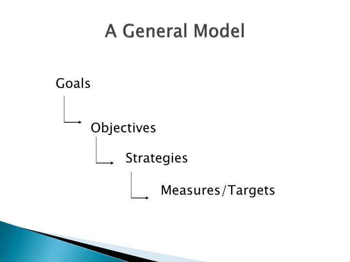 A General Model