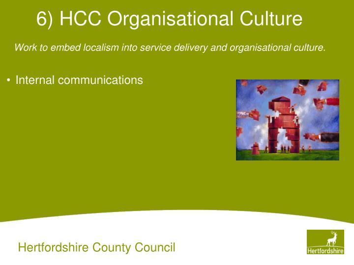 6) HCC Organisational Culture