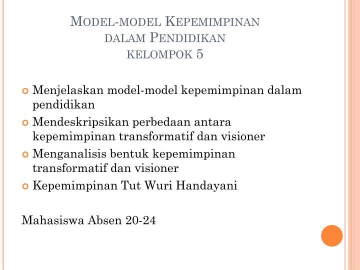 Model-model