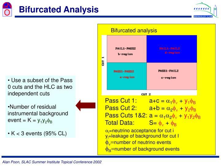 Bifurcated Analysis