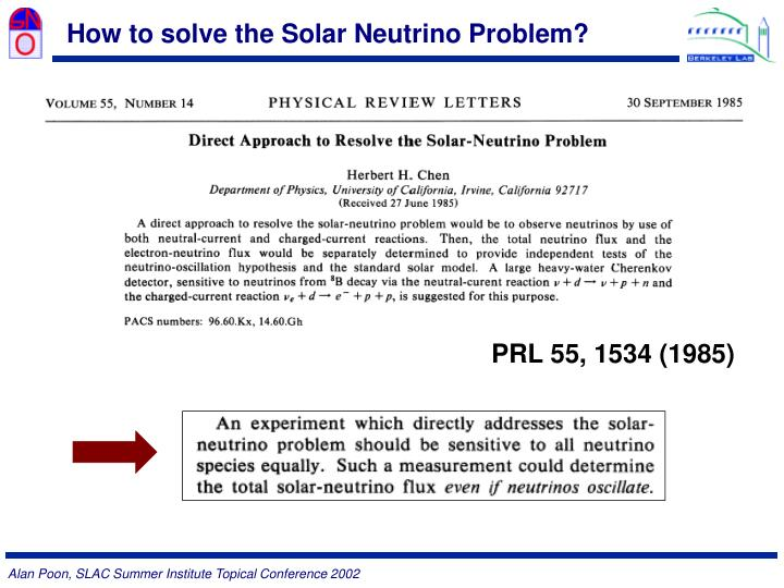 How to solve the Solar Neutrino Problem?