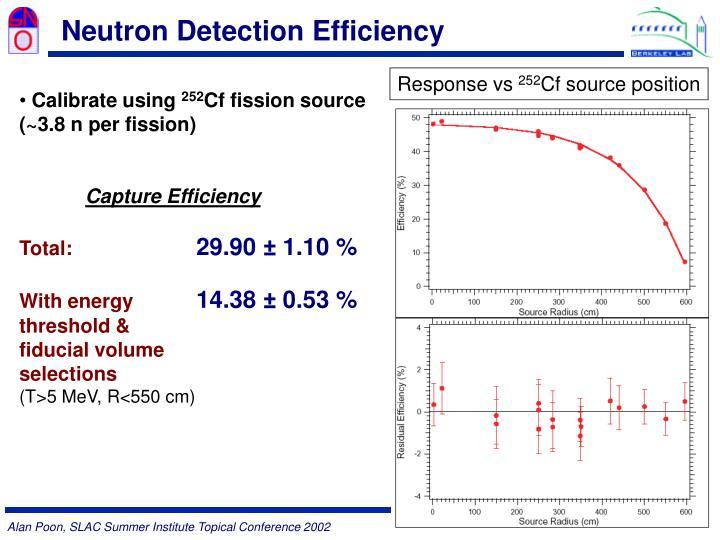 Neutron Detection Efficiency