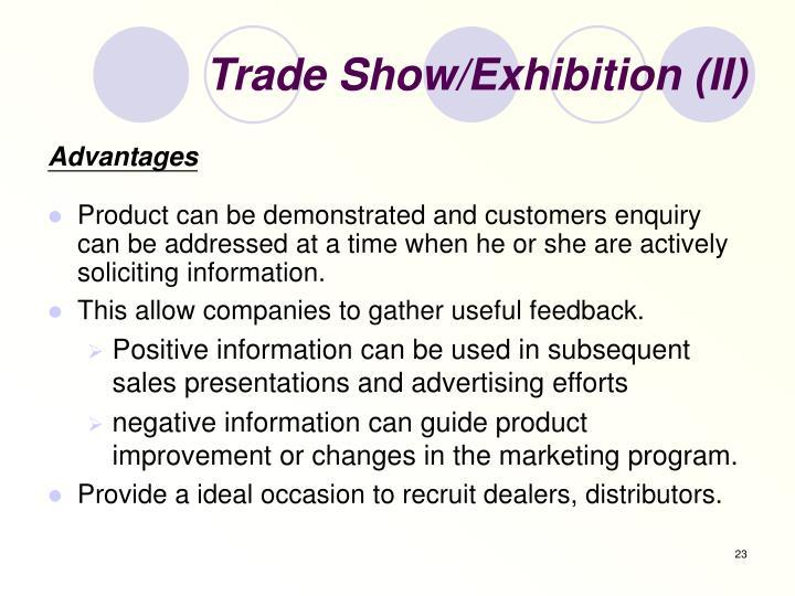 Trade Show/Exhibition (II)