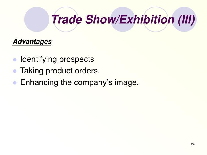 Trade Show/Exhibition (III)
