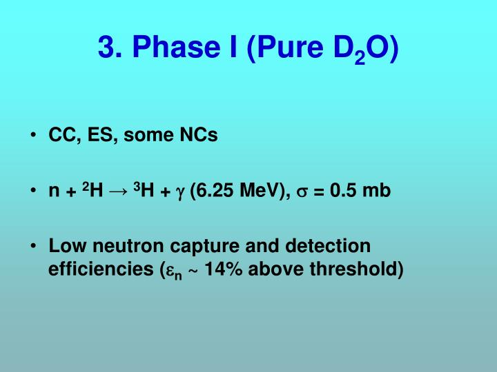 3. Phase I (Pure D