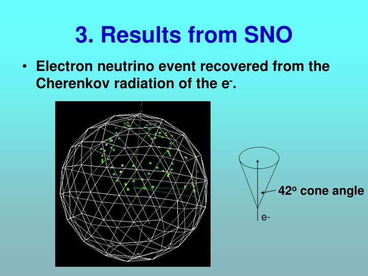 3. Results from SNO