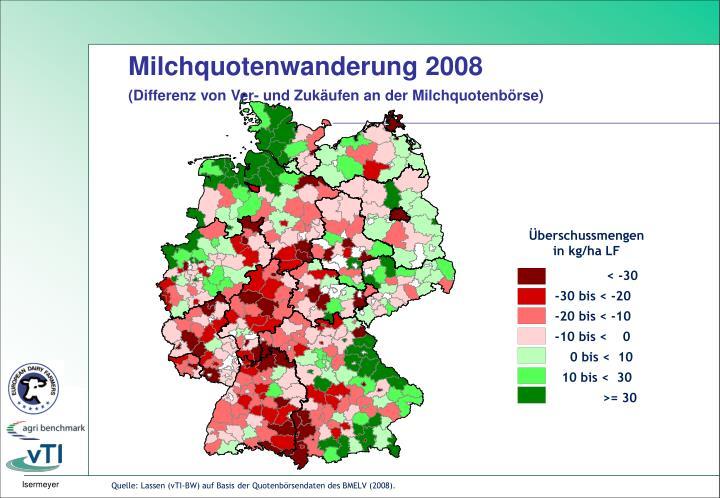 Milchquotenwanderung 2008