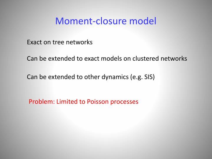 Moment-closure