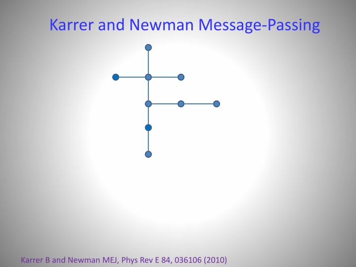 Karrer and Newman