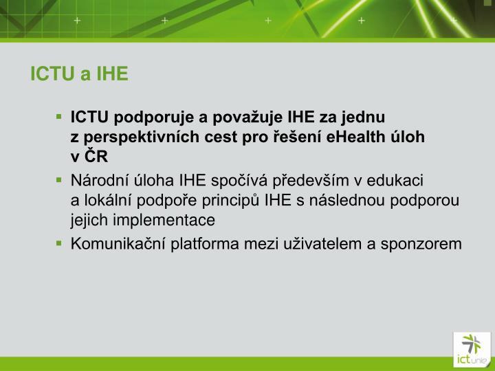 ICTU a IHE