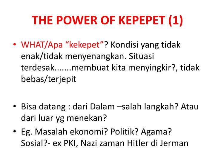 THE POWER OF KEPEPET (1)