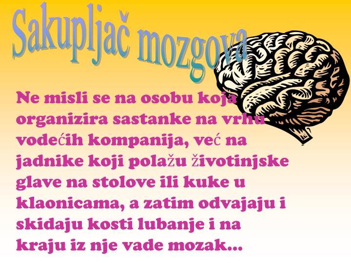Sakupljač mozgova