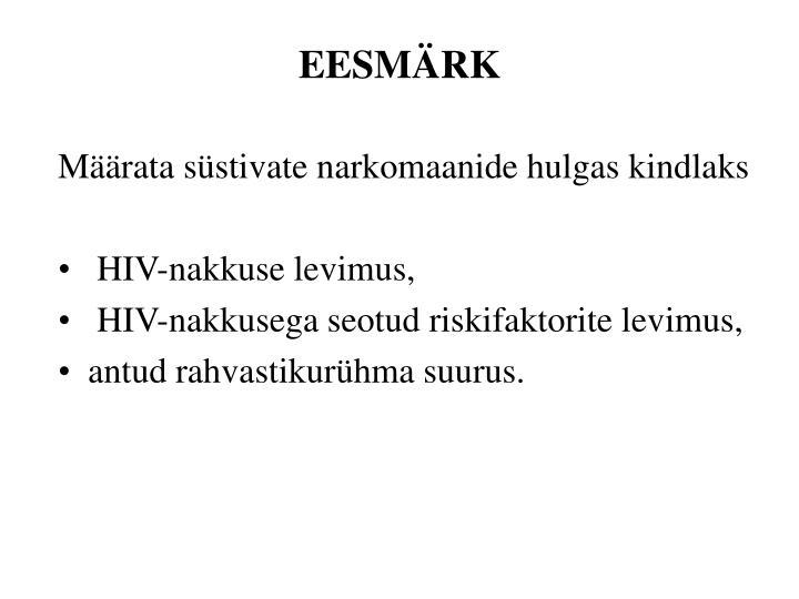 EESMÄRK