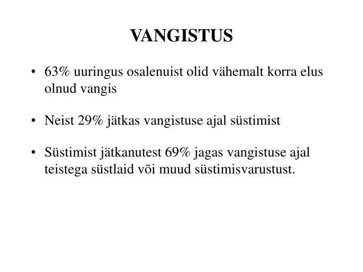 VANGISTUS