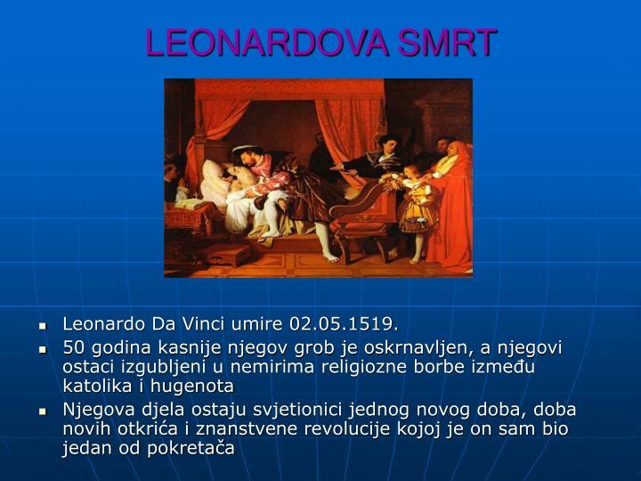 LEONARDOVA SMRT