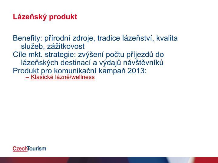 Lázeňský produkt