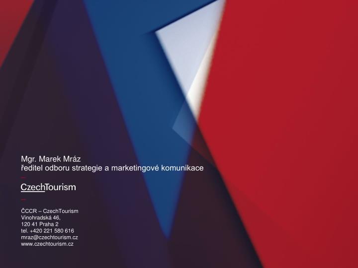 ČCCR – CzechTourism