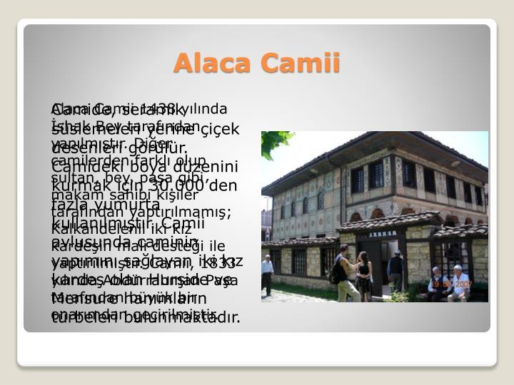 Alaca Camii