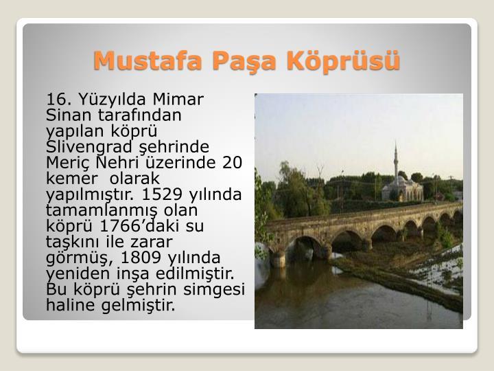 Mustafa Paşa Köprüsü