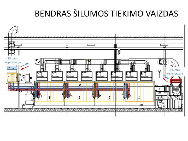 BENDRAS ŠILUMOS TIEKIMO VAIZDAS