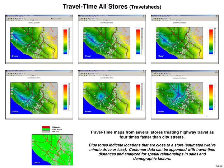 Travel-Time All Stores