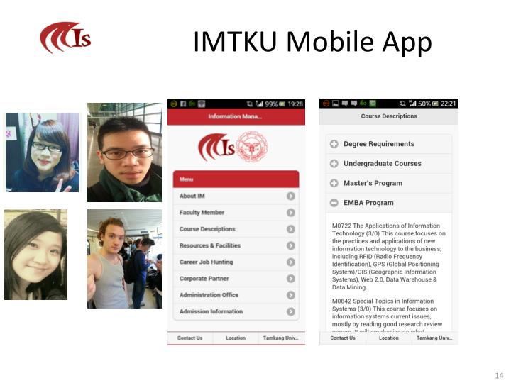 IMTKU Mobile App