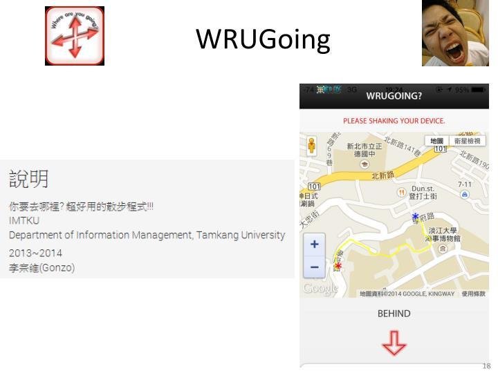 WRUGoing