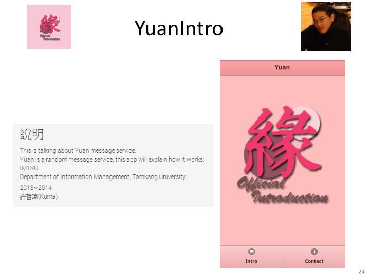 YuanIntro