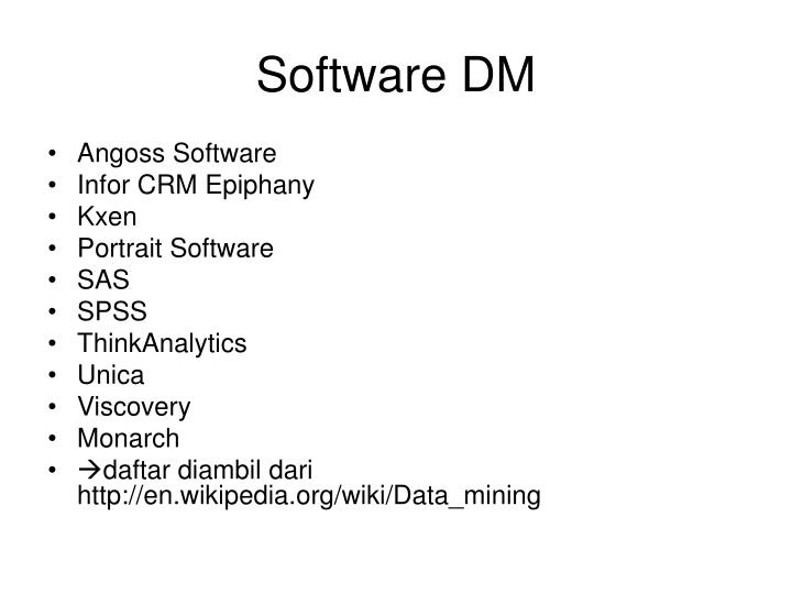 Software DM