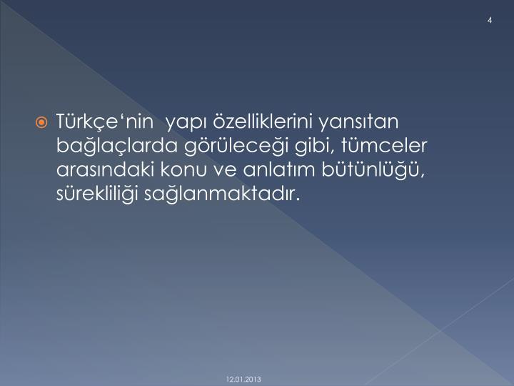 Türkçe'