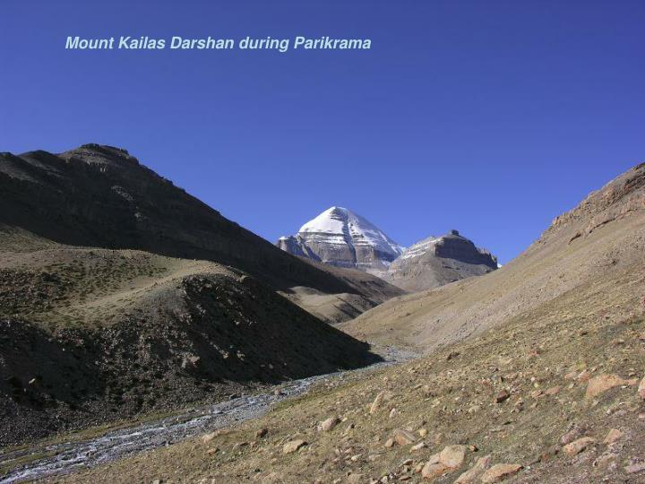Mount Kailas Darshan during Parikrama