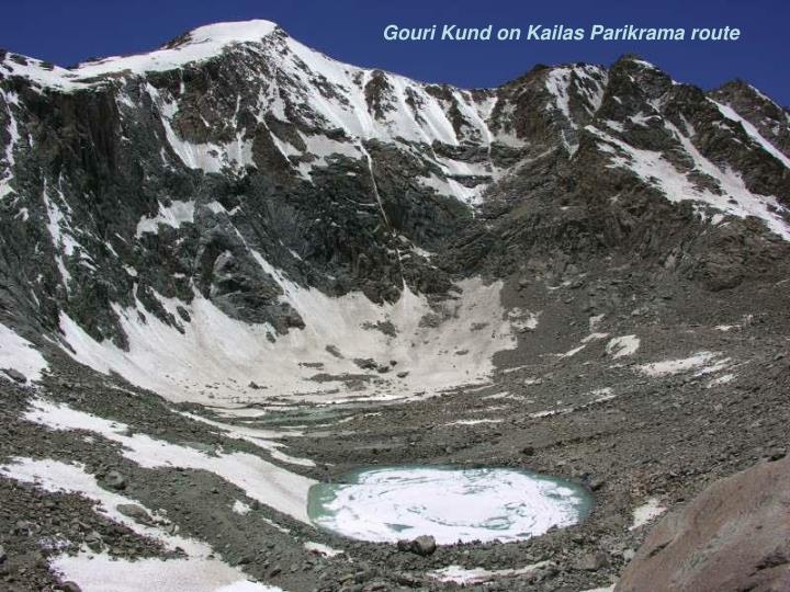 Gouri Kund on Kailas Parikrama route