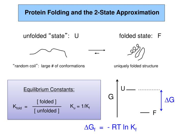 Protein Folding and the 2-State Approximation
