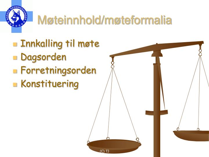 Møteinnhold/møteformalia