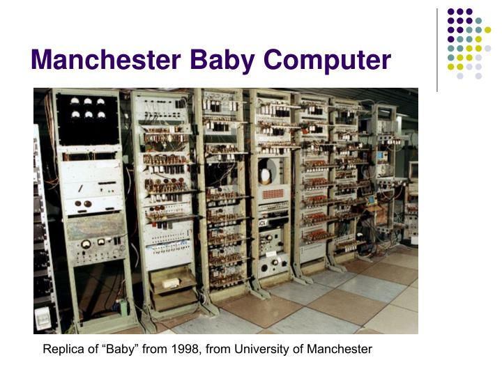 Manchester Baby Computer