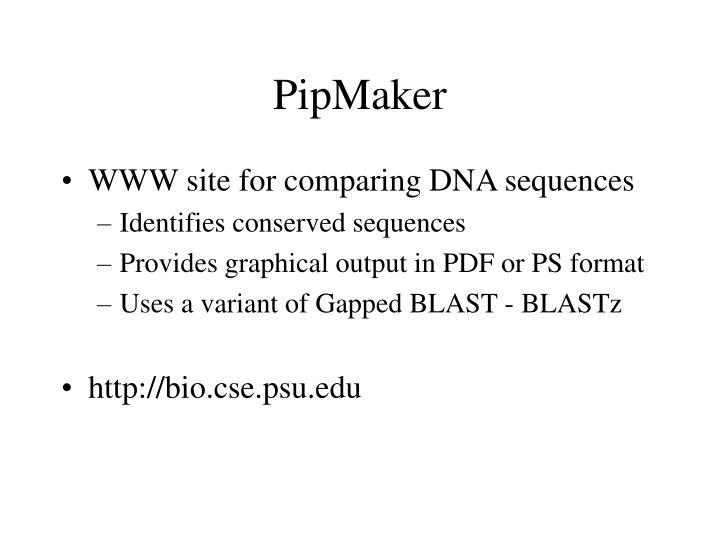 PipMaker