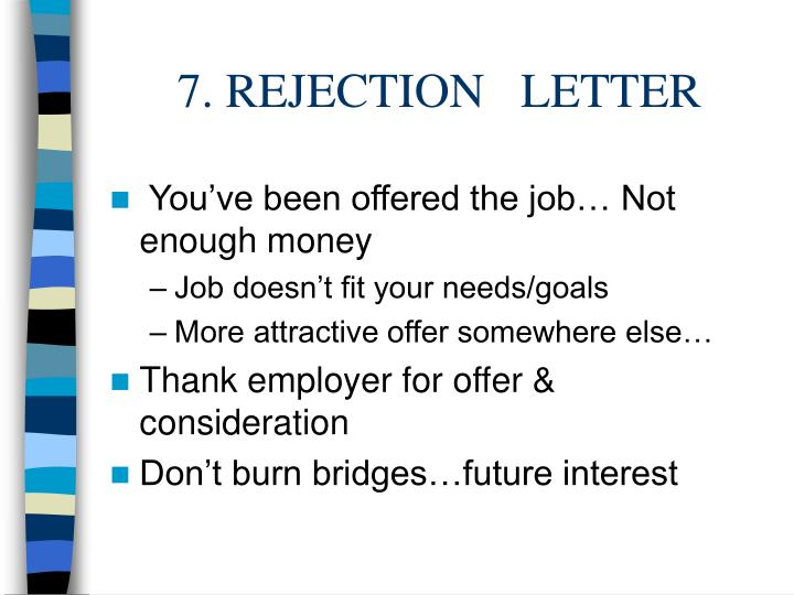 7. REJECTION   LETTER