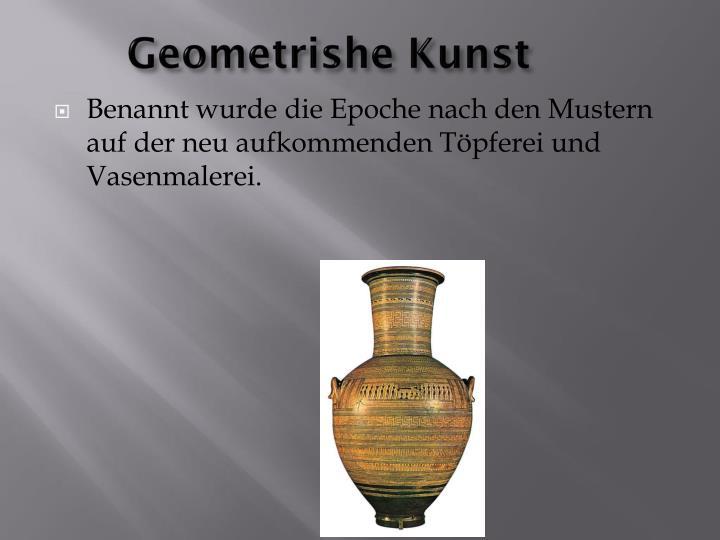 Geometrishe Kunst