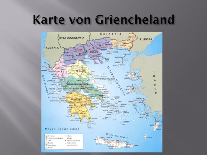 Karte von Griencheland