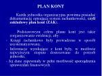 plan kont
