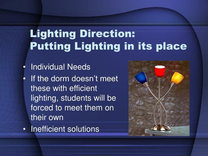 Lighting Direction: