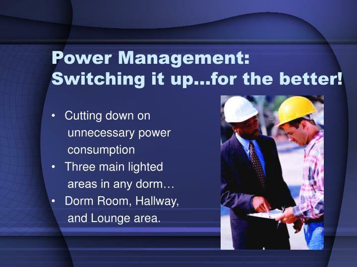 Power Management: