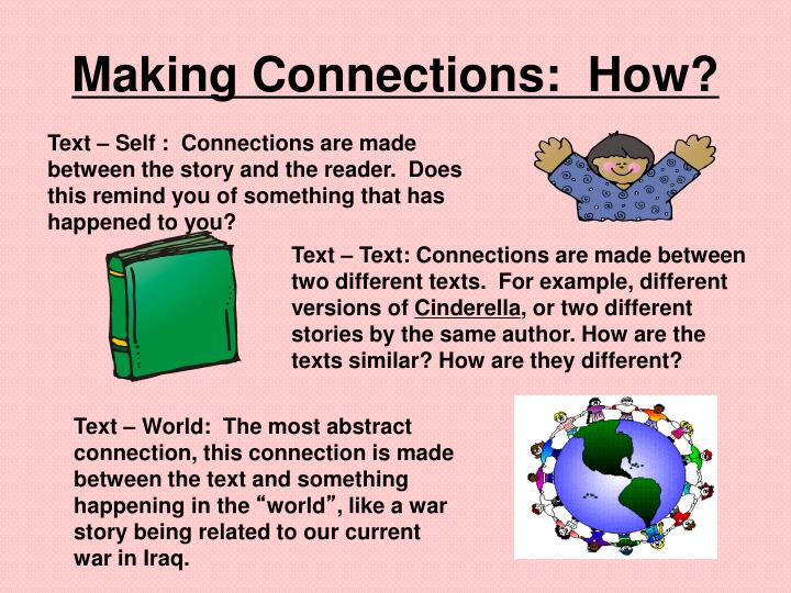 Making Connections:  How?