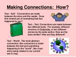 making connections how