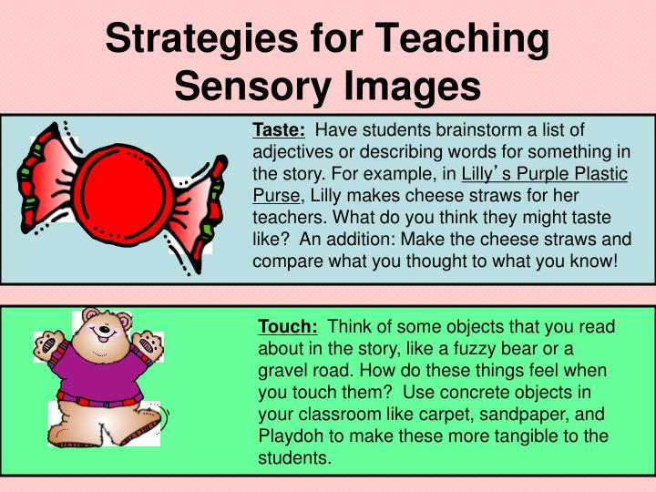 Strategies for Teaching Sensory Images